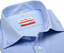 Marvelis Modern Fit – košile se světle modrým mini kárem