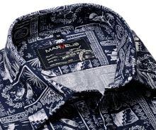 Marvelis Casual – košile s mořeplaveckými motivy - krátký rukáv