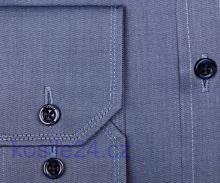 Venti Modern Fit Twill – kovovo modrá košeľa
