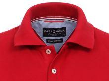 Polo tričko Casa Moda – červené tričko s límečkem