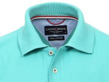 Polo tričko Casa Moda – modro-zelené tričko s límečkem