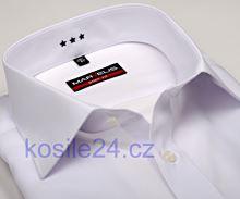 Marvelis Body Fit – biela košeľa - krátky rukáv