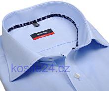 Eterna Modern Fit Fine Oxford – světle modrá košile – extra prodloužený rukáv