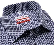 Marvelis Modern Fit - košeľa s červeno-modrými štvorčekmi