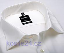 Olymp Luxor Modern Fit - champagne košeľa - krátky rukáv