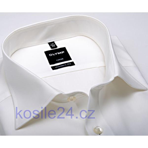 f8e21847fef Slim košile Olymp - champagne - krátký rukáv
