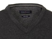 Pletená vesta Casa Moda – antracitová