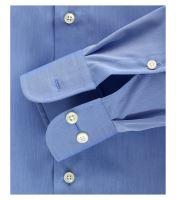 Casa Moda Comfort Fit Chambray – středně modrá - extra prodloužený rukáv