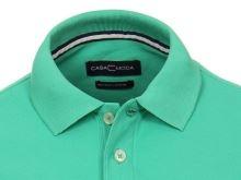 Polo tričko Casa Moda – zelené tričko s golierkom
