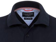 Polo tričko Casa Moda – tmavě modré tričko s límečkem