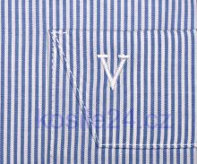 Marvelis Comfort Fit– košeľa so svetomodrým prúžkom