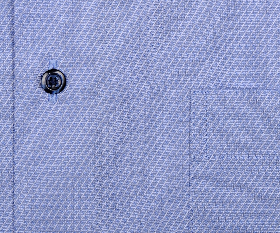 2cc1c0a8c07b Eterna Comfort Fit - svetlomodrá košeľa s votkaným vzorom - krátky rukáv
