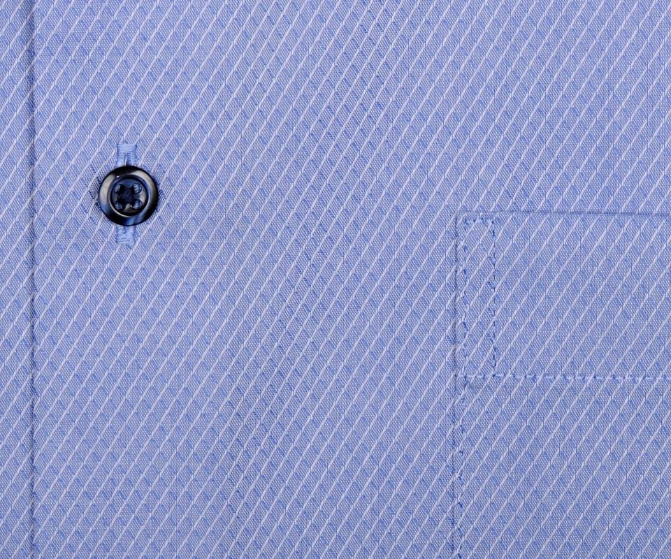 0c22282cfc5e Eterna Modern Fit - svetlomodrá košeľa s votkaným vzorom - krátky rukáv
