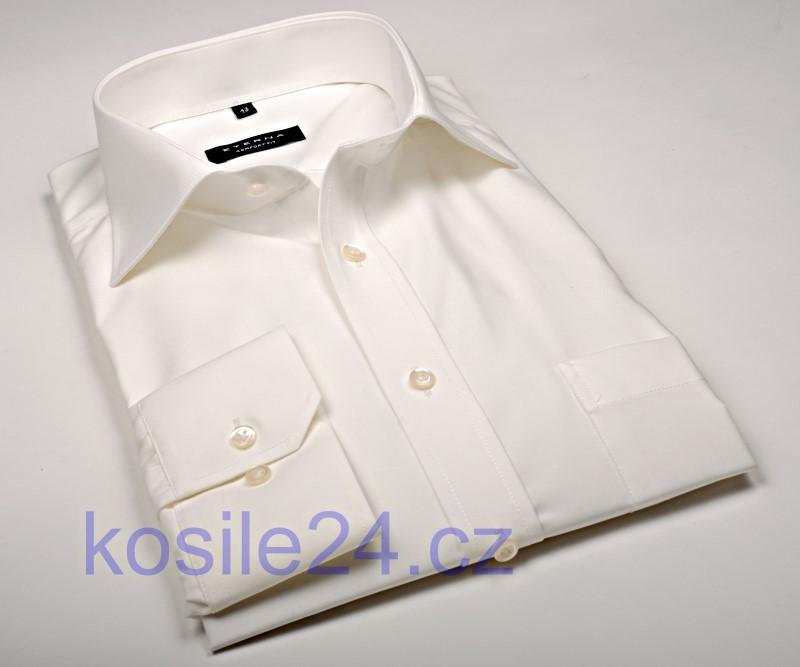 Eterna Comfort Fit Uni Popeline - champagne košile dd0dca2d4d