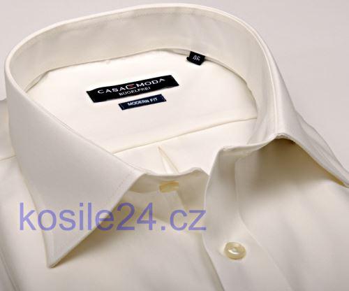 Casa Moda Comfort Fit – champagne košile - prodloužený rukáv