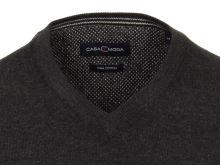 Bavlněný svetr Casa Moda – antracitový