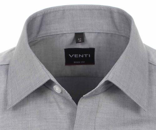 Venti Body Fit – sivá košeľa