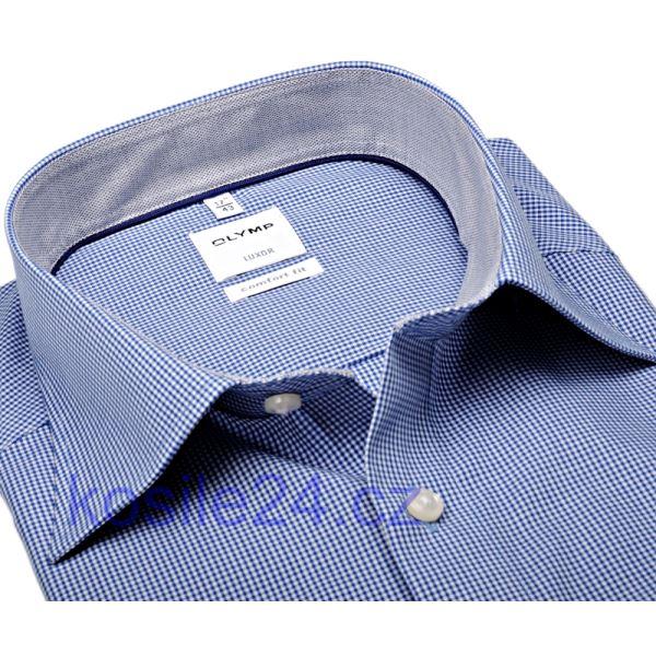 c31394e6833d košeľa Olymp s tmavomodrým minikárom s vnútorným golierom