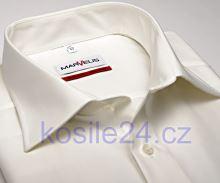 Marvelis Uni – champagne košeľa - krátky rukáv
