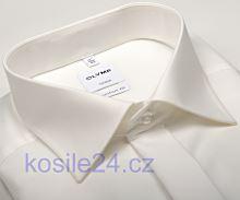 Olymp Luxor Comfort Fit - champagne gala košeľa s dvojitou manžetou a skrytou légou