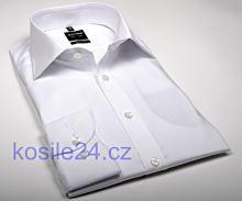 Olymp Level Five – biela košeľa – predĺžený rukáv