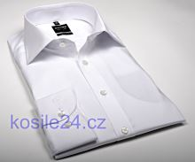 Olymp Level Five – biela košeľa