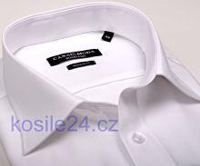 Biela pánska košeľa Casa Moda Comfort Fit Chambray - krátky rukáv
