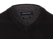 Bavlnený pulóver Casa Moda – čierny