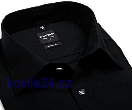 Olymp Level Five – černá košile