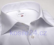 Olymp Luxor Comfort Fit Uni Popeline - bílá košile - zkrácený rukáv