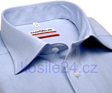 Marvelis Modern Fit Chambray – světle modrá košile - prodloužený rukáv