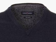 Bavlnený pulóver Casa Moda – tmavomodrý - extra predĺžený rukáv
