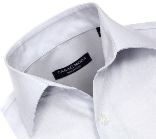 434d5162e57 Casa Moda Comfort Fit Chambray – svetlosivá - krátky rukáv