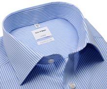 Olymp Comfort Fit Twill – košeľa so svetlomodrým prúžkom