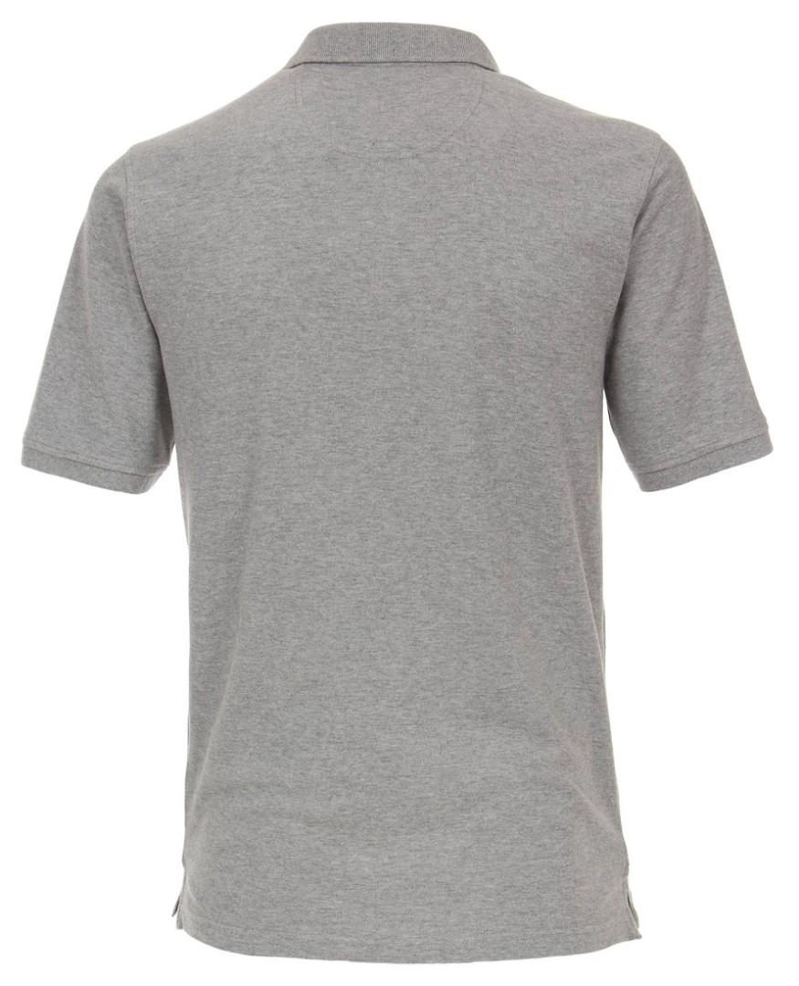 7b2b0ef65e9c Polo tričko Casa Moda – sivé tričko s golierkom